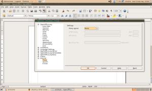 configurar proxy en open